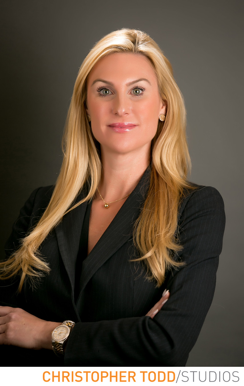 Female Attorney Headshot Orange County Photographer