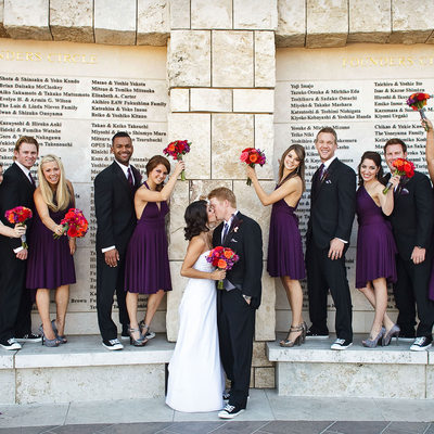 Soka University Photo of Bridal Party