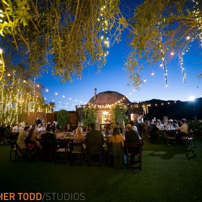 Saddlerock Ranch Wedding Reception