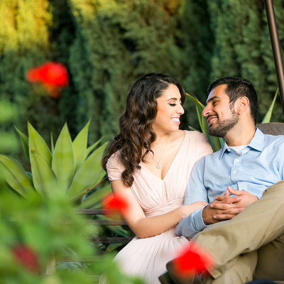 Couple in love At Arlington Garden Pasadena