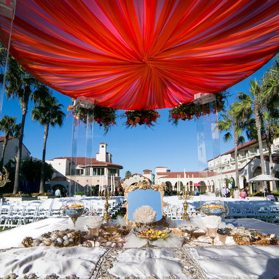 Hyatt Huntington Beach Mandap Indian Wedding Ceremony