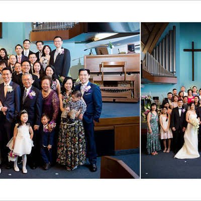 Los Angeles Wedding Portrait Family Group Photo