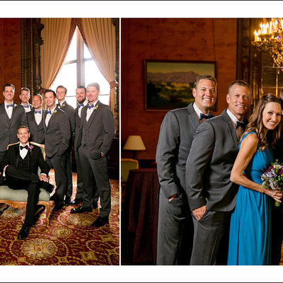 Wedding Photographs at Jonathan Club in Los Angeles