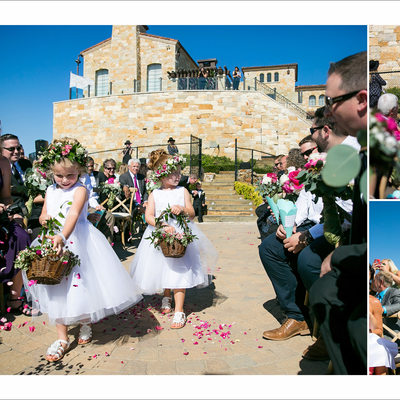 Malibu Rocky Oaks Estate Wedding Ceremony Photography