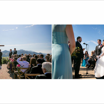 Malibu Rocky Oaks Wedding Ceremony Photos