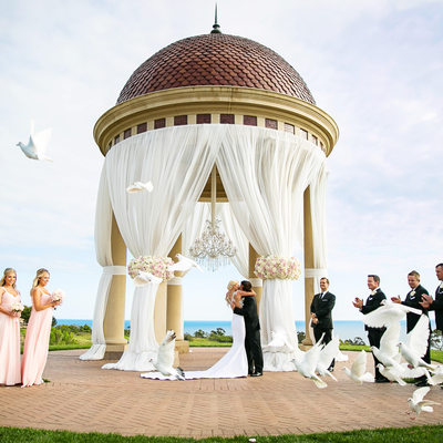 Pelican Hill Resort Outdoor Wedding