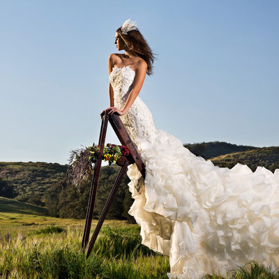 Laguna Beach Photographer Fashion Bridal Gown