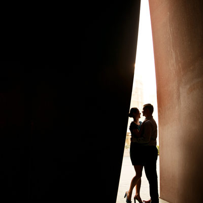 Engagement Photos at Segerstrom Performing Arts Center