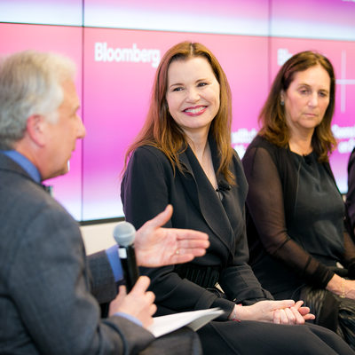 Bloomberg Photographer Interview with Geena Davis