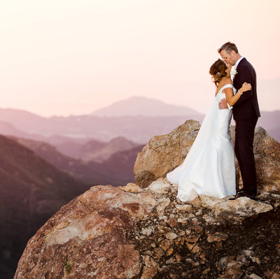 Best Malibu Rocky Oaks Estate Wedding Photographer