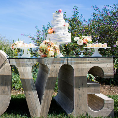 Rrivre Works Studios LOVE table