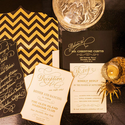 Wedding Invitations at Ritz