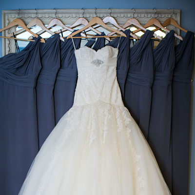 Brides Gown at Portofino Hotel
