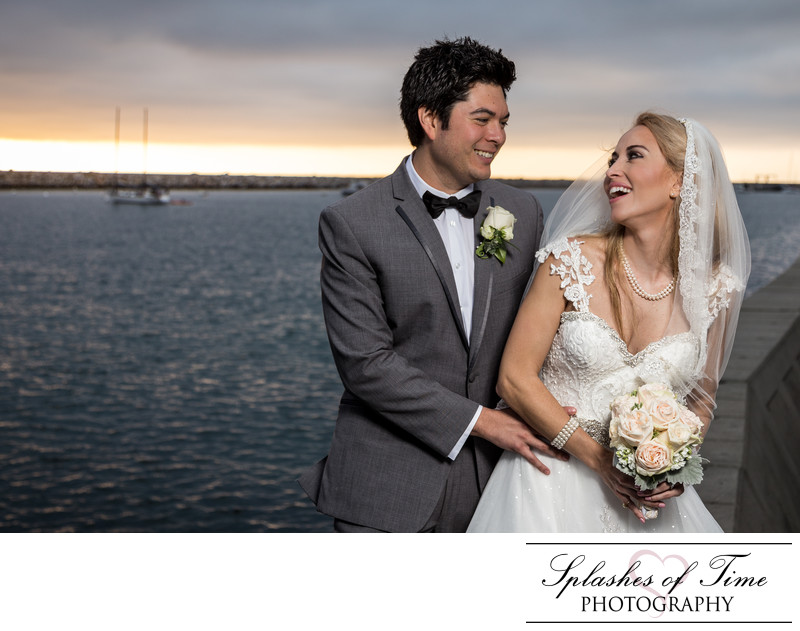 Portofino Hotel & Marina Wedding Photographer