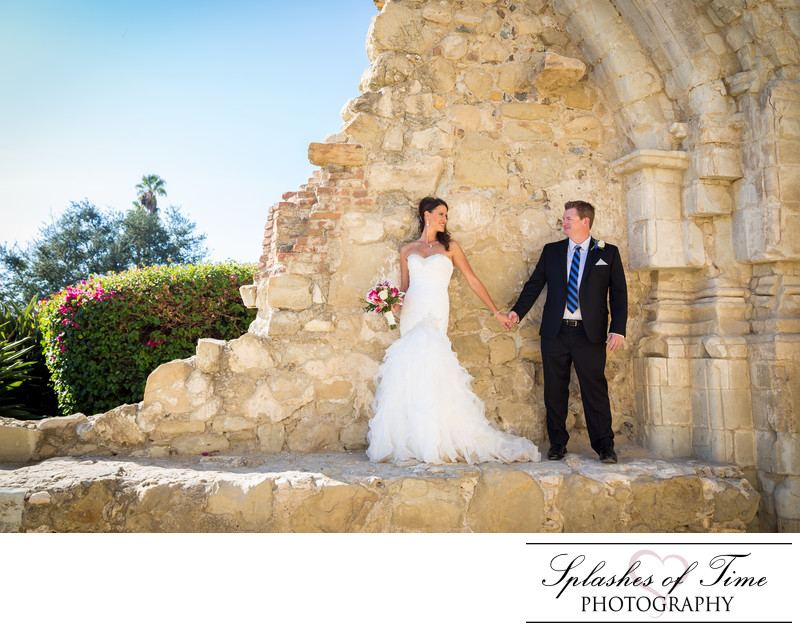 Mission San Juan Capistrano Wedding Photographer