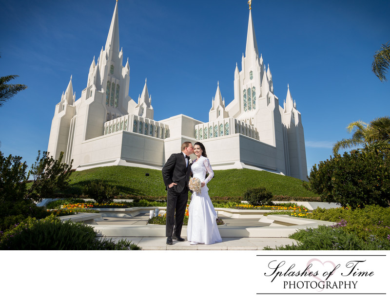 San Diego Temple Photographer