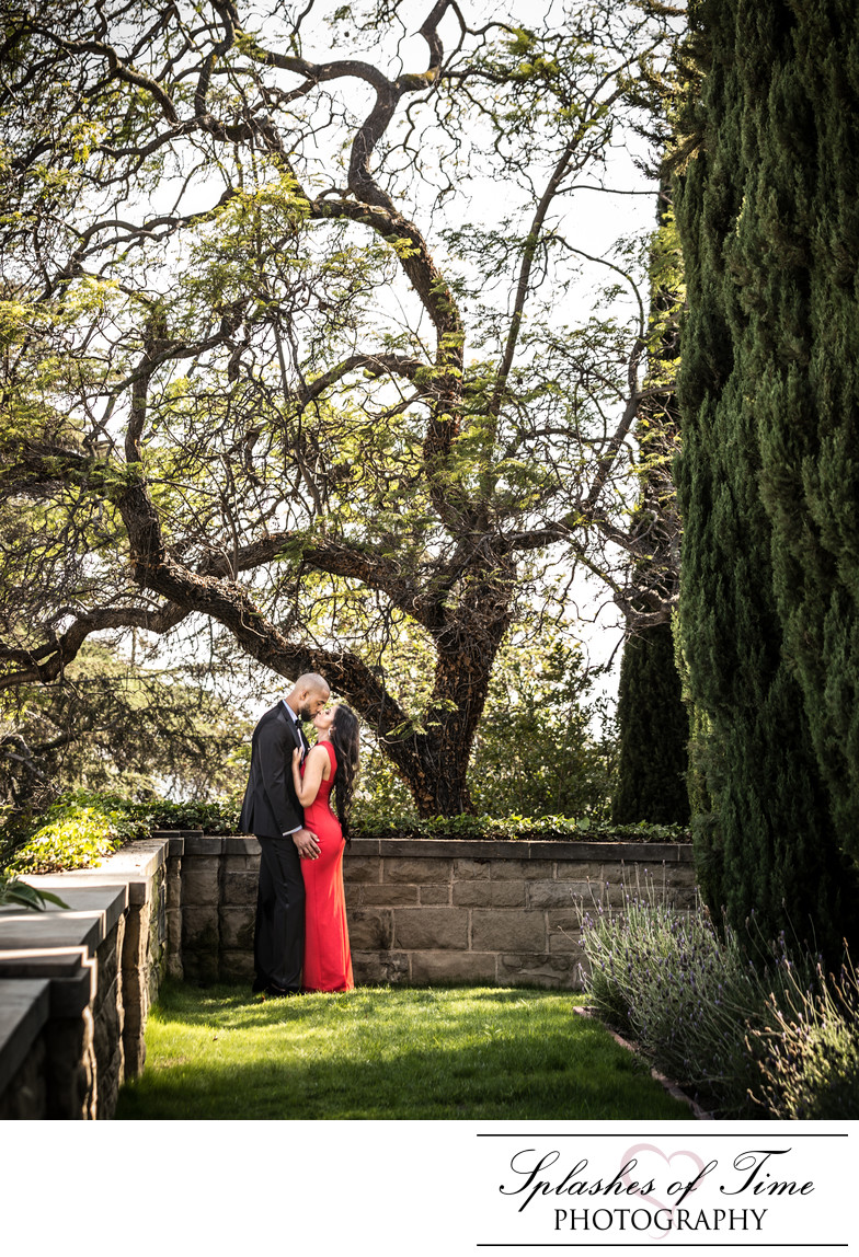 Greystone Mansion Engagement Photography
