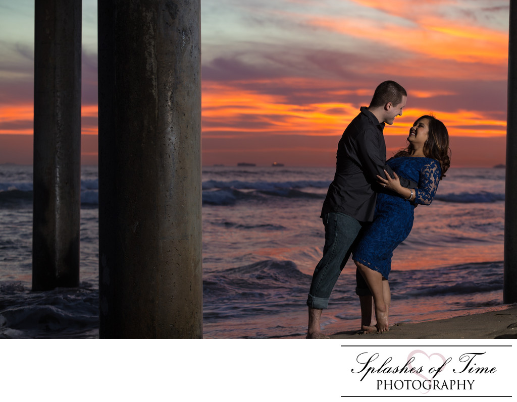 Huntington Beach Engagement Photographer