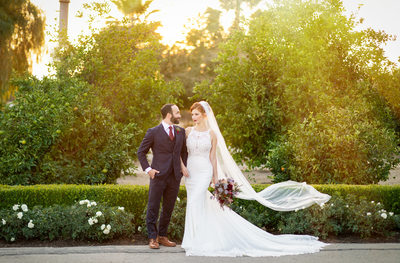 Newhall Mansion Wedding