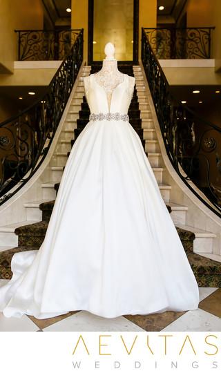 Wedding Dress On Mannequin At Arden Hills Resort