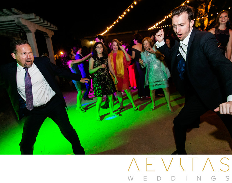 Fun dancing action photo by Santa Barbara photographer
