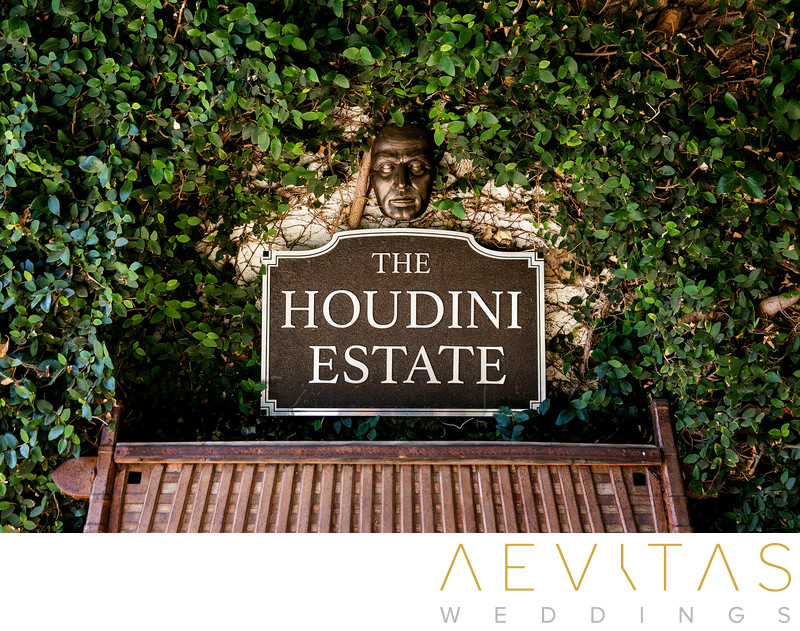 LA wedding venue at The Houdini Estate