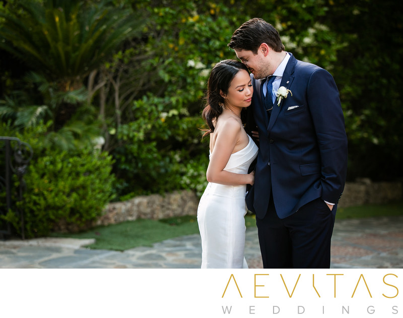 Intimate couple portrait by Houdini Estate photographer