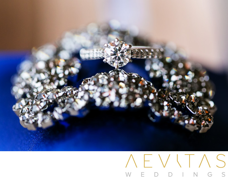 Stunning bride wedding ring details by LA photographer