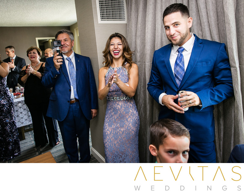 Family reactions Armenian wedding getting ready party
