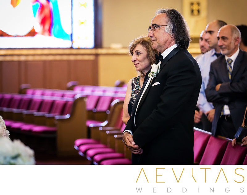 Parent reactions at Armenian wedding ceremony Glendale
