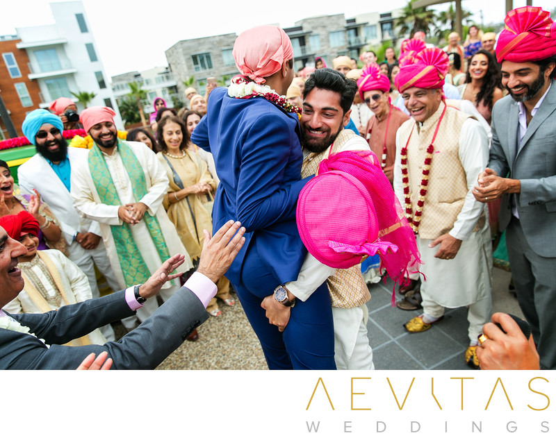 Indian wedding game at Pasea Hotel And Spa