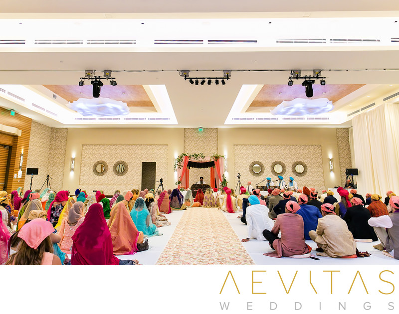 Sikh wedding ceremony at Pasea Hotel And Spa