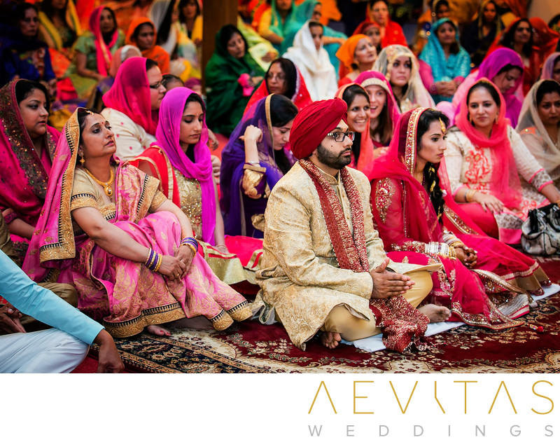 Colorful Indian wedding by San Diego photographer