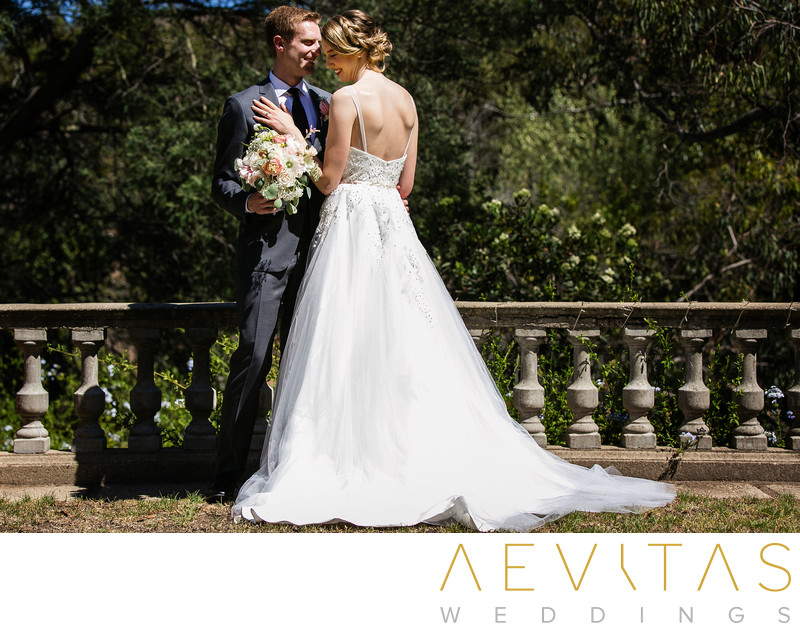 Stunning couple portrait in Palos Verdes Estates