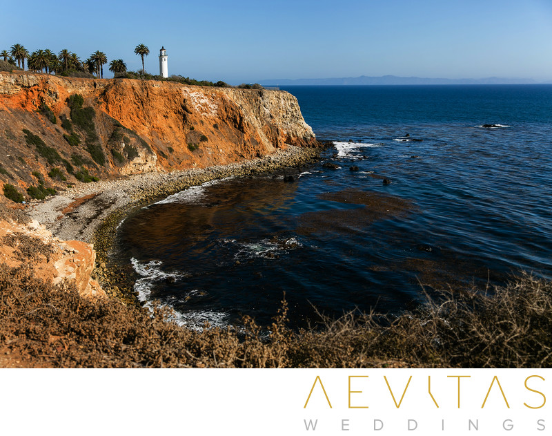 Point Vicente Lighthouse by LA wedding photographer