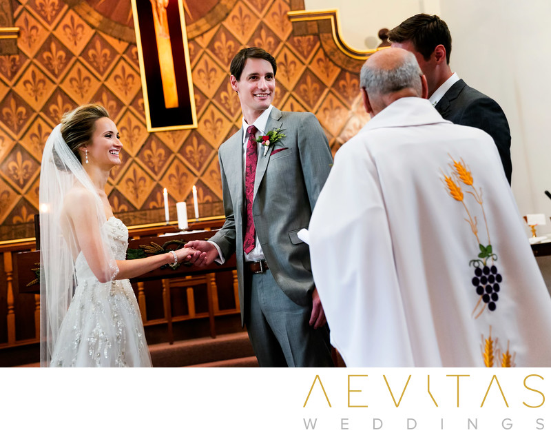 Saint Joan Of Arc Catholic Church Catholic Wedding Photography