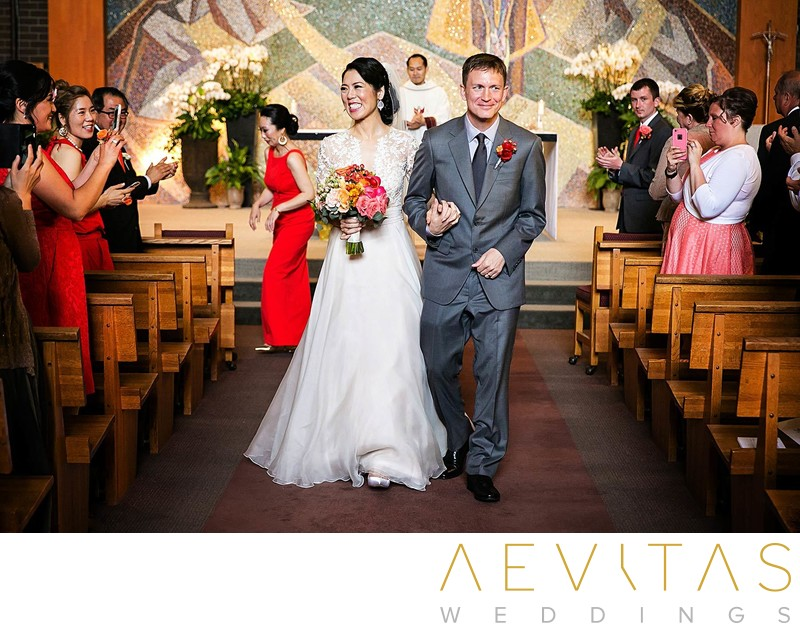 Saint John Neumann Catholic Church Catholic Wedding Photography