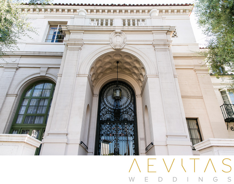 The Ebell of Los Angeles entrance by LA photographer