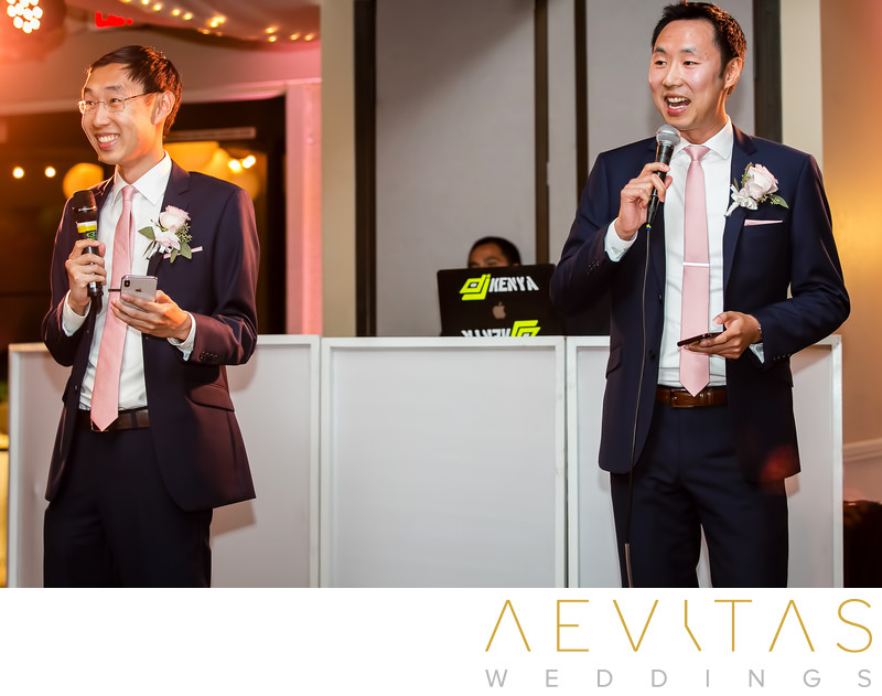 Candid brothers' reception speech at Mountain Meadows