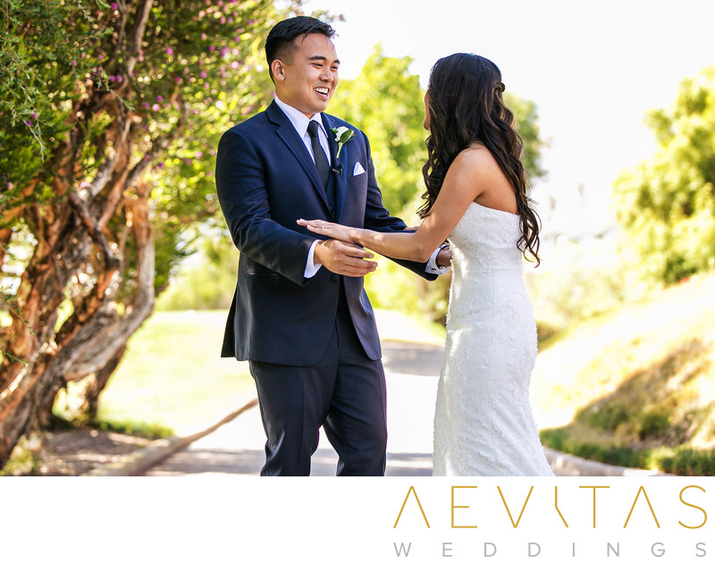Couple reactions Rancho Palos Verdes first look