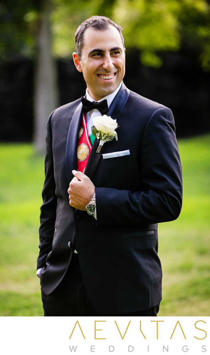 Armenian groom portrait by Glendale photographer