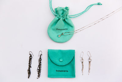 Tiffany and Co. jewelry details by LA photographer