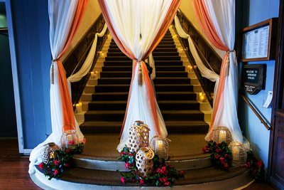 Stairs at Harborside Restaurant and Grand Ballroom
