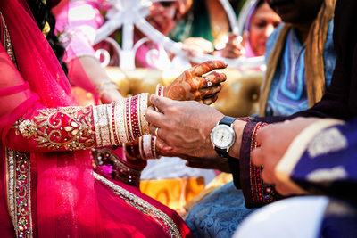 Details of Indian wedding by San Diego photographer