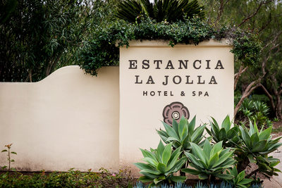 Entrance to Estancia La Jolla Hotel And Spa