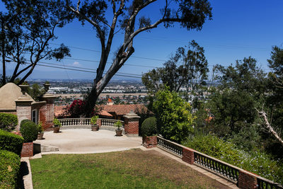 Terrace at Palos Verdes Estates getting ready AirBnb