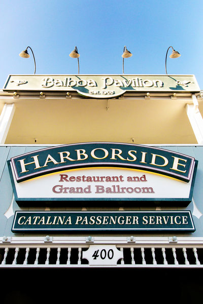 Entrance to Harborside Restaurant and Grand Ballroom