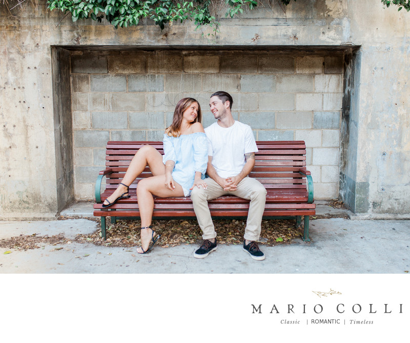 Fine art Brisbane wedding photographer engagement