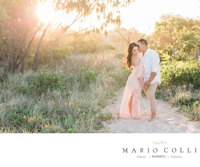 Beach engagement gold coast location