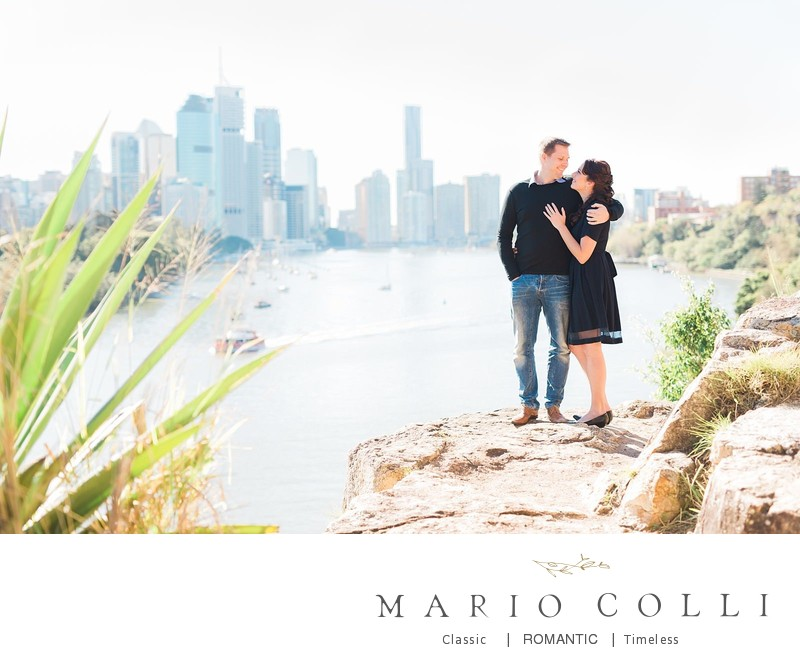 Brisbane engagement photography Kangaroo Point